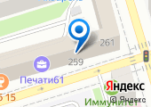 Федерация КОБУДО Ростовской области на карте