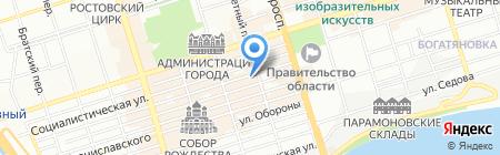 Мужские слабости на карте Ростова-на-Дону