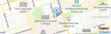 Hard Rock Bar на карте Ростова-на-Дону