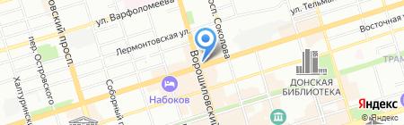 Регион Сервис на карте Ростова-на-Дону