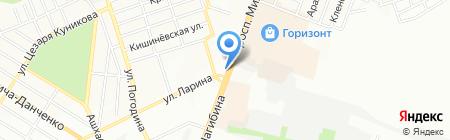 Оконный стиль на карте Ростова-на-Дону