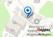 Клубничное, ТСЖ на карте