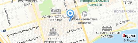 ВЕСНА на карте Ростова-на-Дону