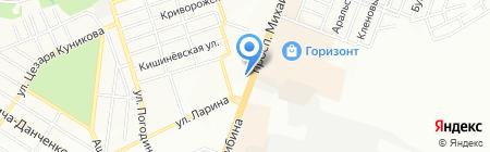 Средняя общеобразовательная школа №90 на карте Ростова-на-Дону