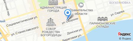 Торгово-монтажная фирма на карте Ростова-на-Дону