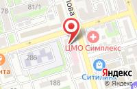 Схема проезда до компании Белс в Ростове-На-Дону