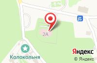 Схема проезда до компании Хоспис в Пощупово