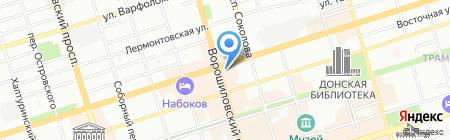 ЮТК на карте Ростова-на-Дону