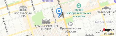 Банкомат КБ КЕДР на карте Ростова-на-Дону