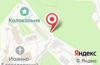 Схема проезда до компании Церковь в честь Тихвинской Иконы Божьей Матери в Пощупово