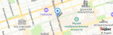 Индустрия красоты на карте Ростова-на-Дону