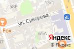 Схема проезда до компании Belli Capelli в Ростове-на-Дону