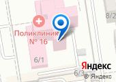 Фитнес-центр на карте