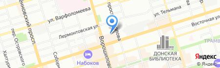 Банкомат Совкомбанк ЗАО Современный Коммерческий Банк на карте Ростова-на-Дону