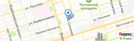 Гарант на карте Ростова-на-Дону