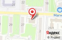 Схема проезда до компании Профкомплекс-Рязань в Рязани