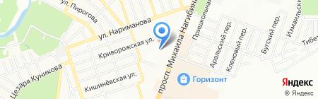 Альтаир на карте Ростова-на-Дону