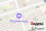 Схема проезда до компании Книжный подвал в Ростове-на-Дону