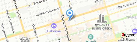Элтек на карте Ростова-на-Дону