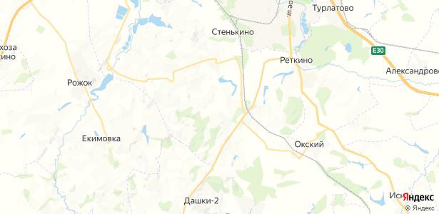 Матчино на карте