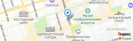 АИЗ ЛТД на карте Ростова-на-Дону