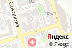 Схема проезда до компании ЛиОни в Ростове-на-Дону
