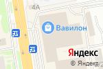 Схема проезда до компании Читай город в Ростове-на-Дону