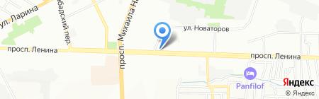 Шарм на карте Ростова-на-Дону