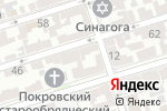 Схема проезда до компании ПРОФИТ ГРУП в Ростове-на-Дону