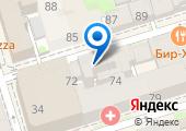 Монетный дворъ на карте