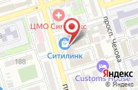 Схема проезда до компании ДМК в Ростове-на-Дону