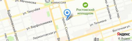 Арсеналкомплект на карте Ростова-на-Дону