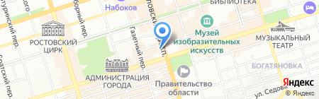Бизнес-школа на карте Ростова-на-Дону