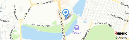 Фидем на карте Ростова-на-Дону