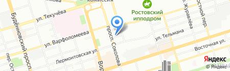 Ювелирная Мастерская №1 на карте Ростова-на-Дону