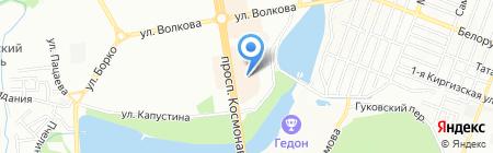 Банкомат Райффайзенбанк на карте Ростова-на-Дону