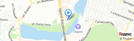 Прованс на карте Ростова-на-Дону