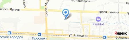 Детский сад №251 Колосок на карте Ростова-на-Дону