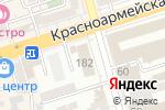 Схема проезда до компании Круг в Ростове-на-Дону