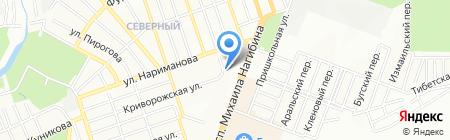 Сапфир на карте Ростова-на-Дону