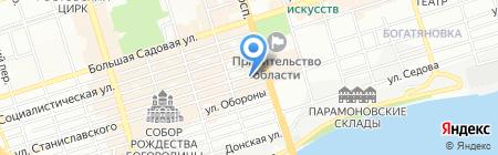 Магазин бензо и электроинструмента на карте Ростова-на-Дону