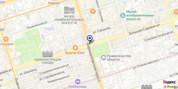 СТРАХОВАЯ КОМПАНИЯ ПРАВООХРАНИТЕЛЬНЫХ ОРГАНОВ на карте Донецке