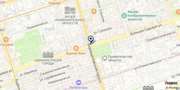 СТРОИТЕЛЬНАЯ ФИРМА СПЕЦСТРОЙ на карте Шахтах