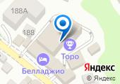 Торос-Холл на карте