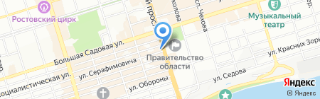 Банкомат ГазПромБанк АО на карте Ростова-на-Дону