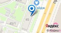 Компания Медсервис на карте