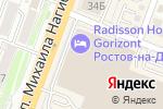 Схема проезда до компании FixPrice в Ростове-на-Дону