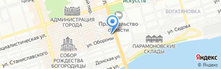 Комус на карте Ростова-на-Дону