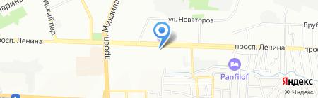 Поехали на карте Ростова-на-Дону