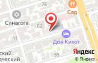 Схема проезда до компании Пкф Экватор в Ростове-На-Дону
